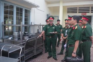 Bộ Tư lệnh Quân khu 7 kiểm tra công tác chuẩn bị huấn luyện tại Trung đoàn 271