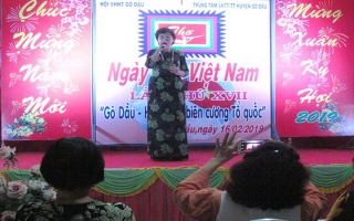 Gò Dầu: Kỷ niệm Ngày thơ Việt Nam