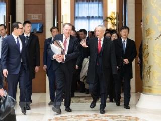 Mỹ và Trung Quốc tiếp tục vòng đàm phán thương mại ở Washington