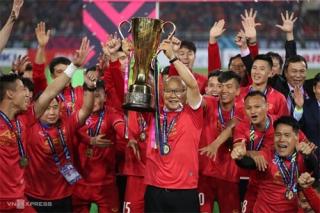 HLV Park Hang-seo dẫn dắt U22 Việt Nam đá giải châu Á