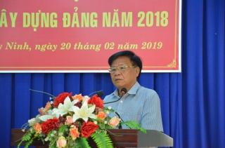 Đảng ủy khối các cơ quan tỉnh tổng kết công tác xây dựng Đảng năm 2018