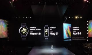 Samsung ra điện thoại gập và bốn phiên bản Galaxy S10