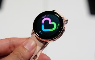 Galaxy Watch Active - đồng hồ thời trang, đo được huyết áp