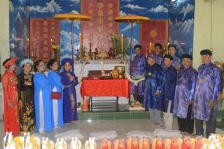 Lễ giỗ Quan lớn Trà Vong Huỳnh Công Giản