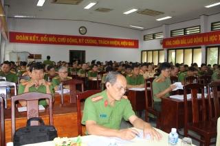 """Bộ Công an: Triển khai chuyên đề """"Học tập và làm theo tư tưởng, đạo đức, phong cách Hồ Chí Minh"""""""