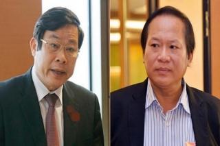 Khởi tố, bắt tạm giam ông Nguyễn Bắc Son, Trương Minh Tuấn