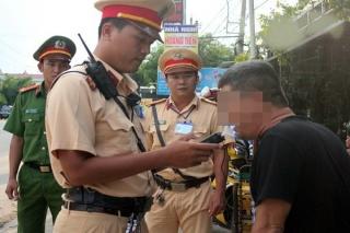 CSGT Tây Ninh xử phạt hơn 2.800 trường hợp vi phạm nồng độ cồn
