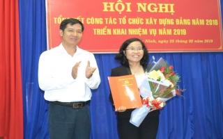 Bà Nguyễn Thị Yến Mai- Bí thư Huyện ủy Châu Thành được bổ nhiệm chức vụ Trưởng Ban Tổ chức Tỉnh ủy