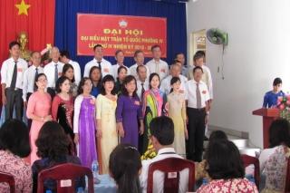 Đại hội điểm Mặt trận Tổ quốc Việt Nam Phường 4
