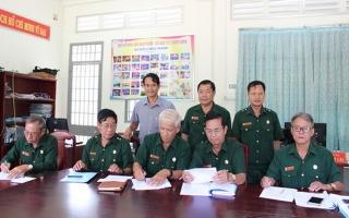 Hội Cựu chiến binh các huyện biên giới ký kết giao ước thi đua