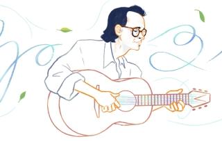 Nhạc sĩ Trịnh Công Sơn xuất hiện trên trang chủ Tiếng Việt Google