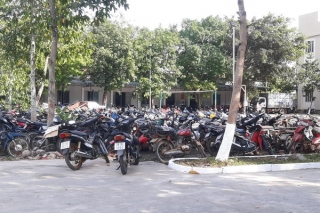 Một tuần tạm giữ hơn 600 xe mô tô vi phạm giao thông