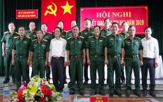 Khối quân sự địa phương Quân khu 7 ký kết giao ước thi đua.
