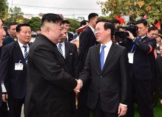 Chủ tịch Triều Tiên Kim Jong-un rời ga Đồng Đăng, kết thúc chuyến thăm hữu nghị chính thức Việt Nam