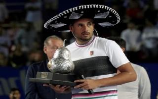 Kyrgios hạ Zverev, vô địch ATP Acapulco