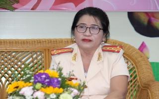 Đại tá Nguyễn Thị Nghĩa: Tâm huyết với nghề