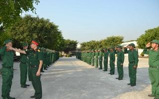 Bộ CHQS Tây Ninh kiểm tra huấn luyện chiến sĩ mới