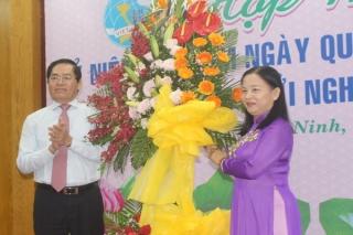 Tây Ninh: Họp mặt kỷ niệm Ngày Quốc tế phụ nữ và Khởi nghĩa Hai Bà Trưng
