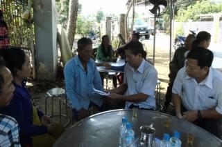 Ban ATGT Tây Ninh: Thăm viếng, chia buồn cùng gia đình nạn nhân bị TNGT ở Tân Biên