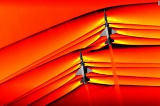 NASA công bố hình ảnh máy bay xuyên tường âm thanh