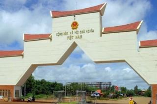 Quy hoạch cửa khẩu quốc tế Tân Nam với quy mô trên 43 ha