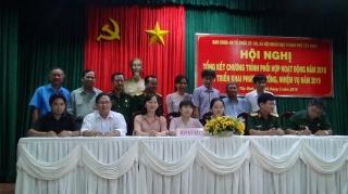 Tổng kết chương trình phối hợp năm 2018 với 6 tổ chức chính trị- xã hội, xã hội nhân đạo
