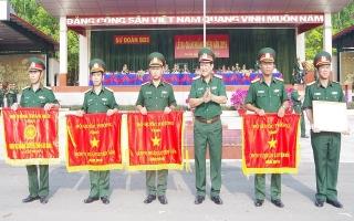 """Ba năm liền được Bộ Quốc phòng tặng cờ """"Đơn vị huấn luyện giỏi"""""""