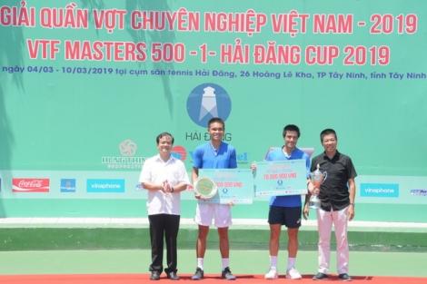 Daniel Nguyễn vô địch đơn nam giải VTF Masters 500 -1