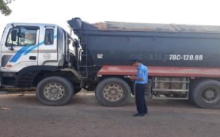Thanh tra GTVT Tây Ninh: Tăng cường công tác kiểm tra đối với các phương tiện ô tô tải vận chuyển gia súc