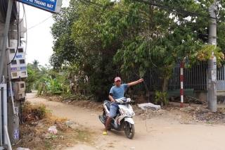 Đứt dây viễn thông trong khu dân cư