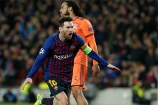 Barca vào tứ kết bằng chiến thắng 5-1