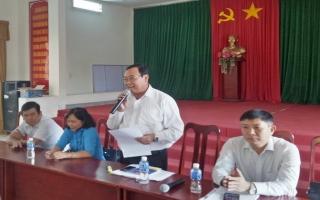 TP.Tây Ninh: Khảo sát việc thực hiện Chương trình mục tiêu quốc gia xây dựng nông thôn mới