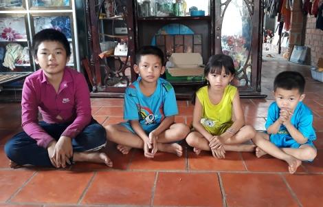 Bốn đứa trẻ mồ côi đáng thương