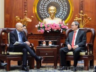Thúc đẩy hợp tác giữa Italy - TPHCM trên nhiều lĩnh vực