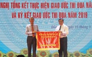 Tổng kết giao ước thi đua Cụm Miền Đông Nam Bộ năm 2018 * Tây Ninh nhận nhiệm vụ Cụm trưởng năm 2019