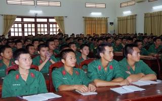 Sư đoàn 5: Tổ chức học tập chuyên đề, định hướng tư tưởng cho chiến sĩ mới