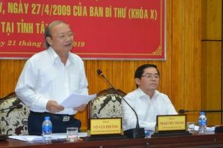 Khảo sát kết quả 10 năm thực hiện Quyết định 221 của Ban Bí thư Trung ương Ðảng (khoá X)