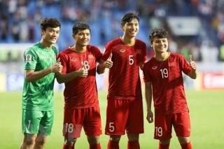 Chốt số áo của các cầu thủ U23 Việt Nam dự vòng loại U23 châu Á
