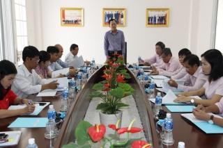 Đoàn ĐBQH tỉnh giám sát quản lý, sử dụng quỹ tài chính ngoài ngân sách nhà nước tại Ngân hàng CSXH tỉnh