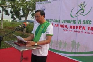 Tây Ninh tổ chức Ngày chạy Olympic Vì sức khỏe toàn dân