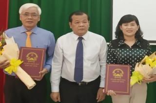 Bổ nhiệm bà Nguyễn Đài Thy giữ chức Giám đốc Sở Nội vụ