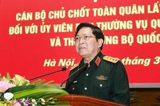 Tổ chức lấy phiếu tín nhiệm các Ủy viên Thường vụ Quân ủy Trung ương