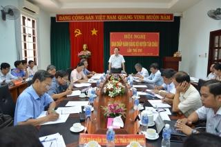 Tân Châu tổ chức Hội nghị BCH Đảng bộ huyện lần thứ XVI