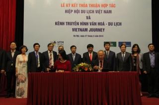 Hiệp Hội Du lịch Việt Nam ký kết thỏa thuận với Kênh Truyền hình Đài Tiếng nói Việt Nam