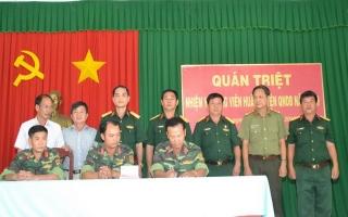 Động viên huấn luyện quân nhân dự bị năm 2019