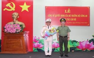 Bổ nhiệm Giám đốc Công an Tây Ninh