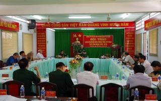 Hội thảo lịch sử BĐBP tỉnh Tây Ninh giai đoạn 1990 - 2019