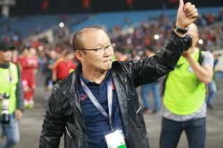 Bóng đá Việt Nam bất bại ở Đông Nam Á dưới thời HLV Park Hang Seo