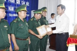Tây Ninh: Hoàn thành việc xây dựng cột mốc phụ, cọc dấu và hồ sơ phân giới cắm mốc