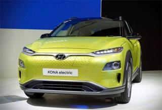 Hyundai Kona động cơ điện giá từ 58.000 USD tại Thái Lan